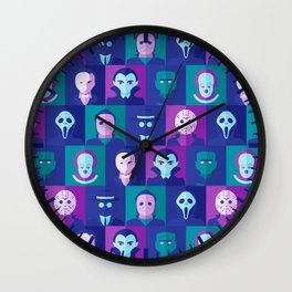 Classic Spooks Wall Clock