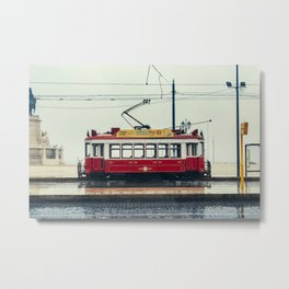 Tram number 6 | Electrico 6. Lisboa, Portugal Metal Print