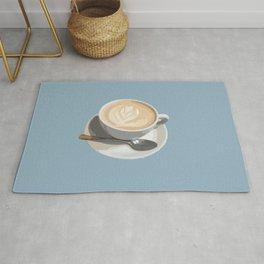 London Latte Blue! Coffee Time Rug