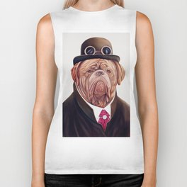 Dogue de Bordeaux Biker Tank