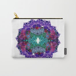 Flower Wheel  Carry-All Pouch