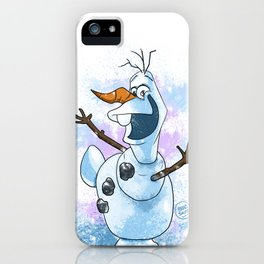 The lovable Olaf iPhone Case