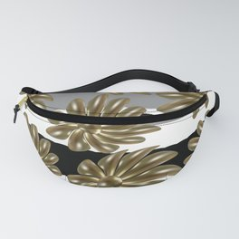 Golden pearl daisies Fanny Pack