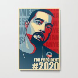 2020 President Metal Print