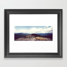 Cascade Summit Framed Art Print