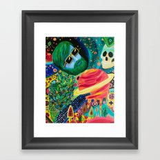For to be Space Dust Framed Art Print