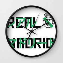 Real Madrid Japanese Wall Clock