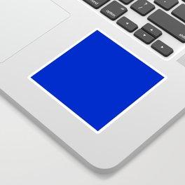 Solid Deep Cobalt Blue Color Sticker