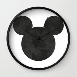 Mouse Ears Wall Clock