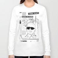 karl Long Sleeve T-shirts featuring Karl Lagerfeld by CLSNYC