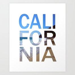 California Print, California Poster, California Wall Art, Art Print