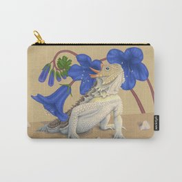 Coast Horned Lizard Carry-All Pouch
