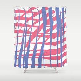 abst Shower Curtain