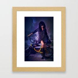 Lightscycle Framed Art Print