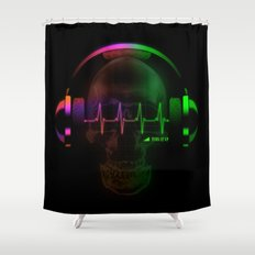 Beats Shower Curtain