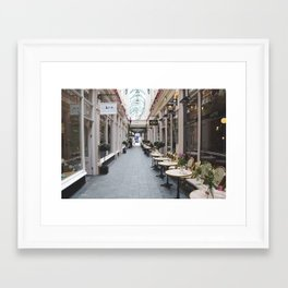 All about cheese Framed Art Print