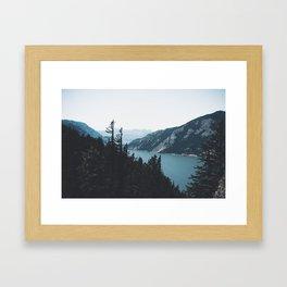 Columbia River Gorge V Framed Art Print