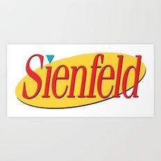 Sienfeld Art Print