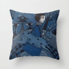 December Park (2) Throw Pillow