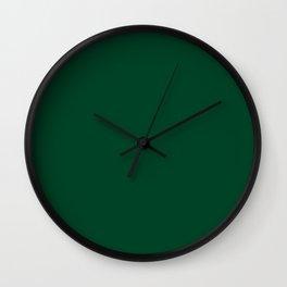 UK British Racing Green Motor Racing Wall Clock