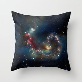Galactic Spectacle Throw Pillow