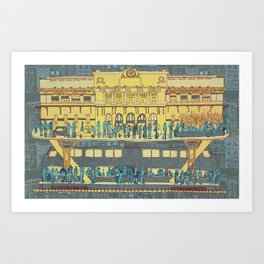 Penn Station Art Print