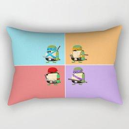 Turtles in Disguise Rectangular Pillow