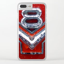 V8 Clear iPhone Case