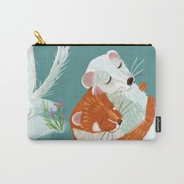 Weasel hugs Carry-All Pouch