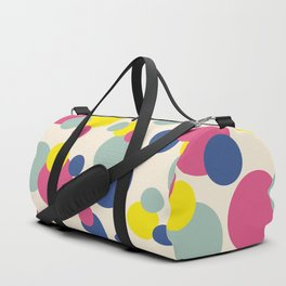 Colored Dots #3 Duffle Bag