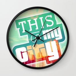 THIS IS MY CITY - Meet you in Los Santos! Wall Clock