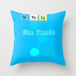 Gin Tonic Throw Pillow