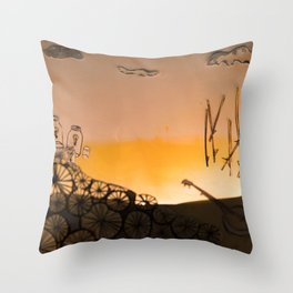 Diorama Throw Pillow