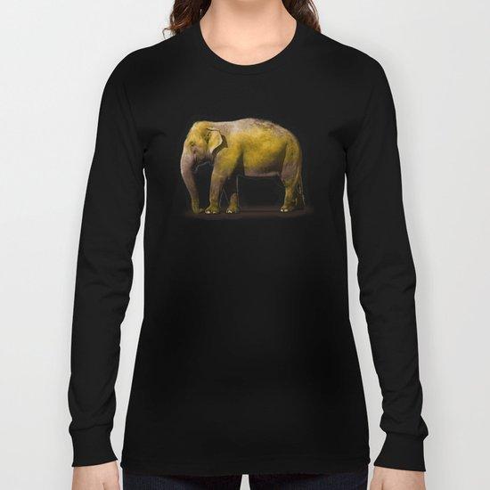 Elephant in New York Long Sleeve T-shirt