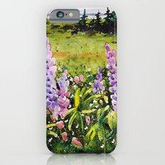 Lupines of Nova Scotia iPhone 6s Slim Case