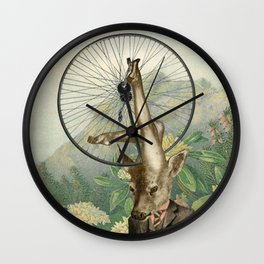 HEAD, SHOULDERS, KNEES AND TOES Wall Clock