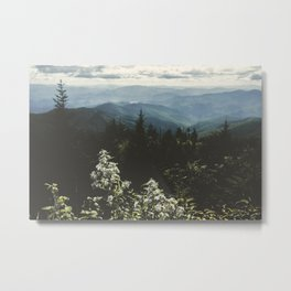Smoky Mountains - Nature Photography Metal Print