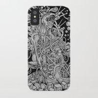 godzilla iPhone & iPod Cases featuring Godzilla by Walid Aziz