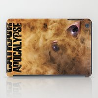 book cover iPad Cases featuring Cathair Apocalypse Book 1 Cover by Cathair Apocalypse