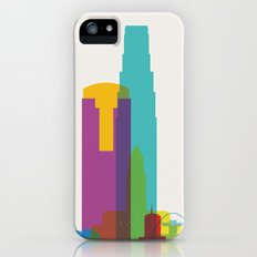 Shapes of Los Angeles accurate to scale iPhone (5, 5s) Slim Case