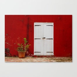 Door at the Fort Canvas Print