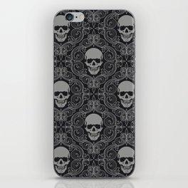 skull texture iPhone Skin