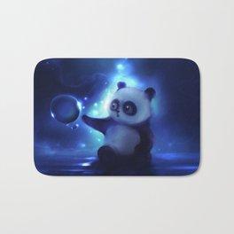 Panda and Bubbles Bath Mat
