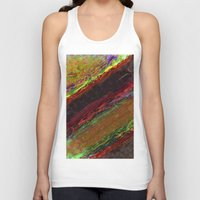 bands Tank Tops featuring Class Seven Atmospheric Bands by Theoretical Art