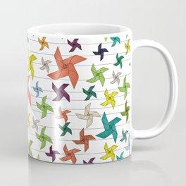 Color paper figures Coffee Mug