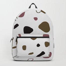 Purple granito Backpack