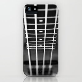bass guitar iPhone Case