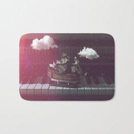 Musical Ship Bath Mat