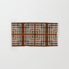 Multi Square Tile Pattern Design Hand & Bath Towel
