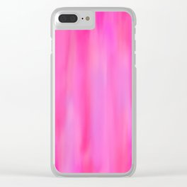Pink Hues Clear iPhone Case